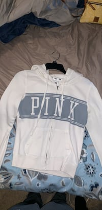 Two PINK zip ups (separate pictures) Canton, 48187