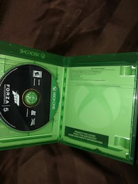 Xbox one forza motorsport 5 game case Suitland, 20746