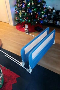 Double sided bed rails fit a single bed up to a queen sides bed Kitchener, N2M