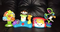 Four toys for babies and children. Toronto, M3N 2L4