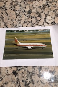Continental Airlines aircraft photograph Los Angeles, 90049
