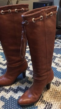 Knee High Hand Made Leather Boots
