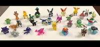 30 New Pokemon Small Toy Figures (Gengar Pikachu Pitlup Slowpoke & much more!) $15 ALL FIRM Visalia, 93292