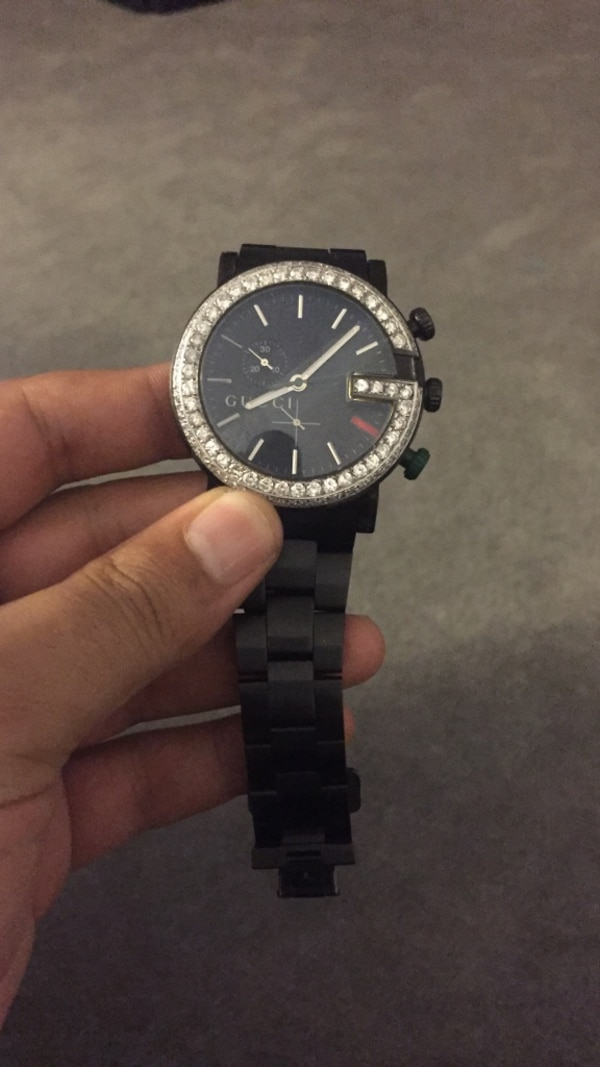 c7a3111d9ad Used Double diamond bezel Gucci watch for sale in Walnut Creek - letgo