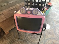 Pink and black crt tv Bakersfield, 93309