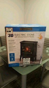 Winter 3D Electric Stove Heater Austell