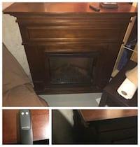 Electric fireplace with remote  Whitchurch-Stouffville, L4A 4J8