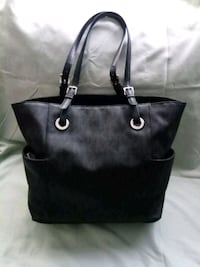 MICHAEL KORS Black Leather Tote Handbag Lake Forest, 92630