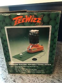Tee Whiz Cordless Electric Golfball Teeing Device