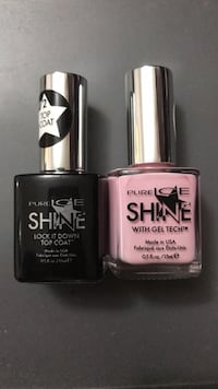 Pure ice nail polish colour+top coat Burnaby, V5J 4J4