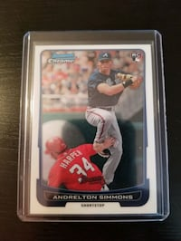 Andrelton Simmons Rookie Card - Free Shipping  Toronto, M6C 2L3