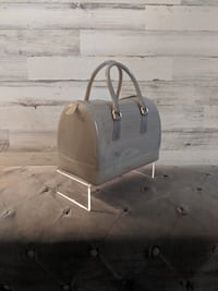 Furla Medium Candy Satchel- Nebbia Grey