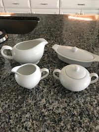 white ceramic tea cup set Frederick, 21704