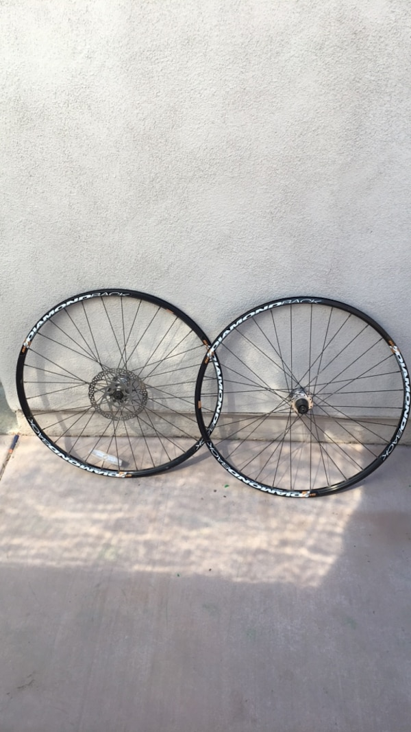 29er wheelset disc wheels new bike take off diamondback
