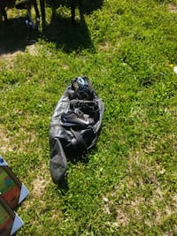 2 pair of cleats ball bag and small glove Rossville, 30741