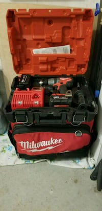 red and black Milwaukee power tool Oshawa, L1H 7K4