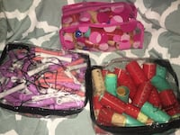 Beauty supplies assorted hair curlers