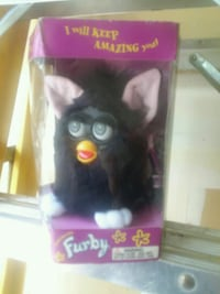 black and red Furby toy in box Henderson, 89052