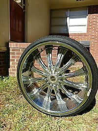 "24"" Rims/tires Albany"