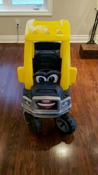 yellow and black Little Tikes cozy coupe Vaughan, L6A 3Y9
