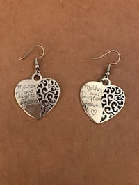 Heart shaped Mother and Daughter Jewelry Set San Antonio, 78258