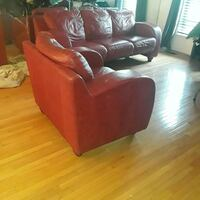 Genuine Leather Sofa and Chair.  Forestville, 20747