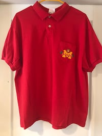 Vintage Stedman By Hanes USMC United States Marine Corps Polo Shirt.  Fort Collins, 80521