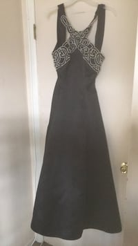 Black beaded sleeveless prom dress Upper Marlboro, 20774