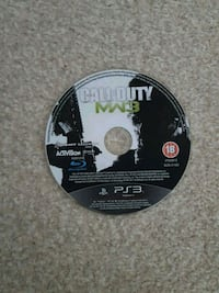 Call of Duty MW3 PS3 game disc