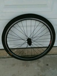 black bicycle wheel with tire Anaheim, 92807