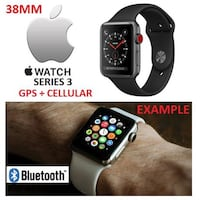 NEW APPLE WATCH SERIES 3 38MM GPS+ Cellular St Catharines, L2R