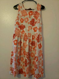 white and red floral sleeveless dress West Valley City, 84119