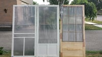 screen doors, NEW, free local delivery BRAMPTON