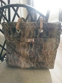 Liz Claiborne patent leather tote Atlanta