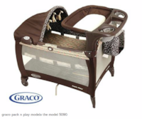 portable GRACO pack n play 5090 with changing station and canopy Fairfax