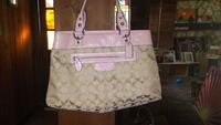 Gorgeous Pink and Brie Coach Purse Englewood