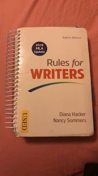 rules for writers by diana hacker Annandale, 22003