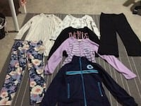 Assorted winter clothes, size 8. Edmonton, T6W 3N6