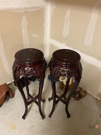 Rosewood Plant Stands