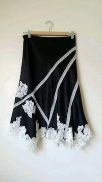 BCBG Fancy Silk and Lace Skirt  Toronto, M6A 2W4
