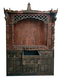 Temple in wood fully carve and antique finish  Vadodara, 390021