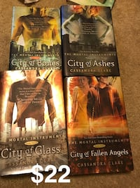 The Mortal Instruments 1-4 Baton Rouge, 70820