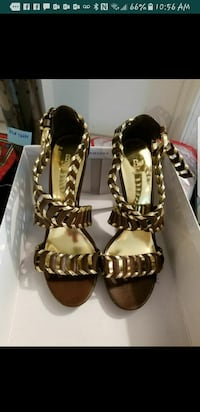 Brown open toe high heel Sandals Pembroke Pines, 33025