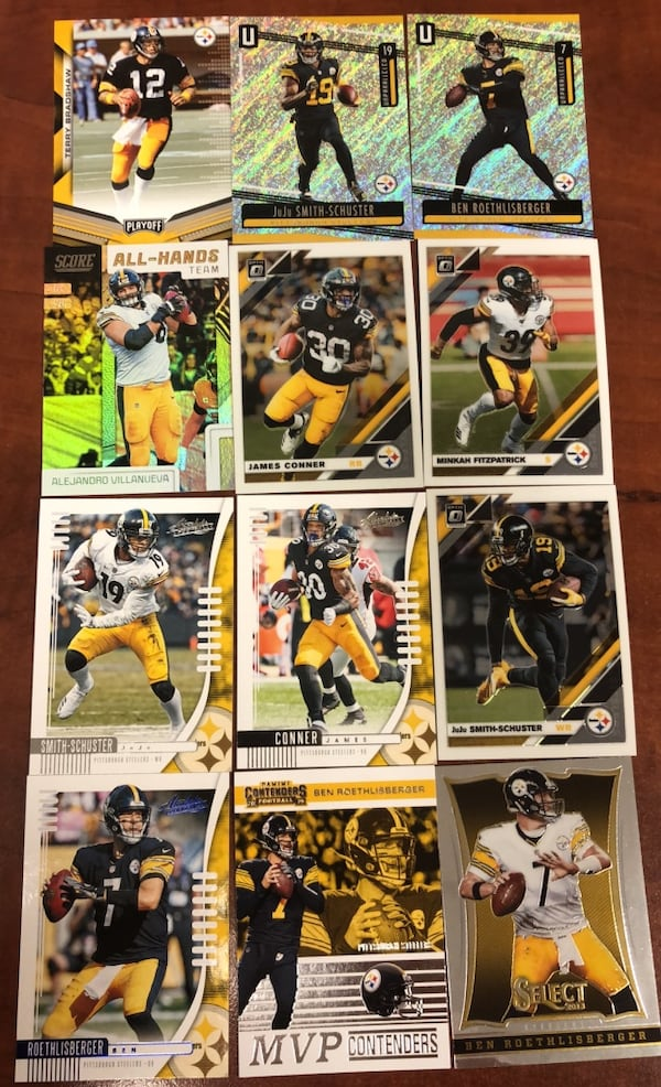 Pittsburgh Steelers card lot  33e9477d-2586-436b-8306-767fad65c3a3