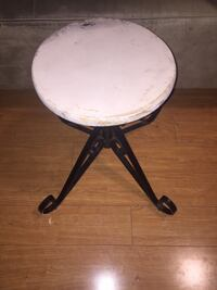 Stool with Metal Base Toronto
