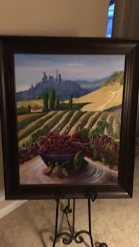 brown wooden framed painting of house near body of water Prineville, 97754