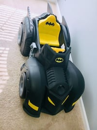 Black and Yellow Batmobile ride on toy car Woodbridge, 22192