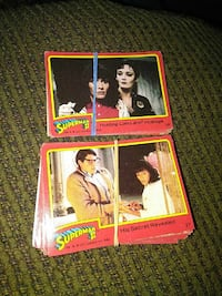 Superman 2 trading cards