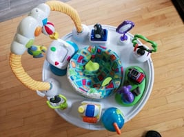 A baby play stand