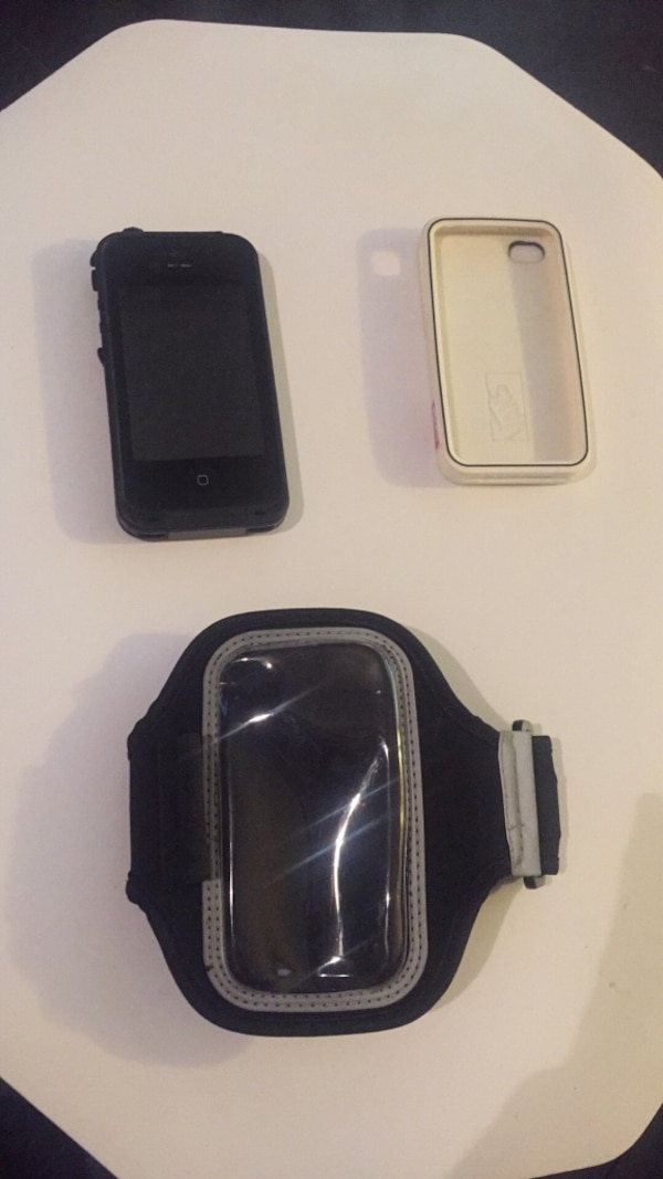 new product dbf77 1c629 Used IPhone 4 cases lifeproof, vans, running arm band for sale in ...
